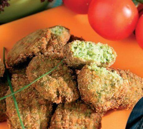 Brokolicové krokety