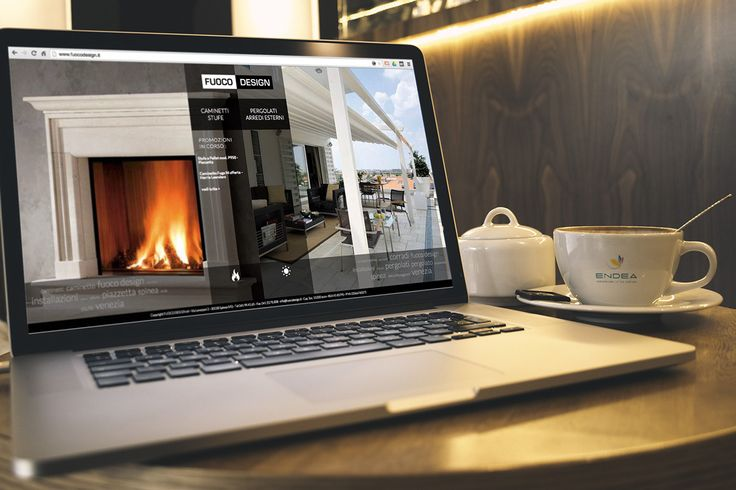 Fuoco Design on Behance by Endea #sitointernet #sitoweb #website #inspiration