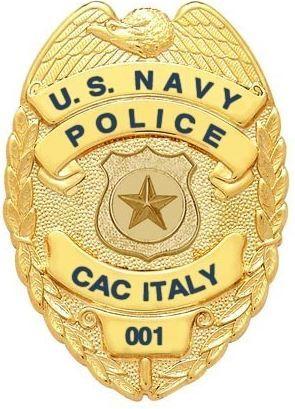 Smith & Warren US Navy MAA Badge (Customizable Model)
