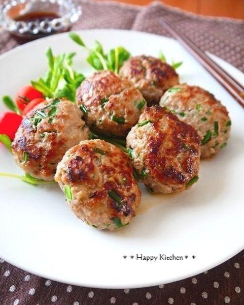 簡単!お弁当にもピッタリなネギ味噌つくね by たっきーママ | レシピ ...