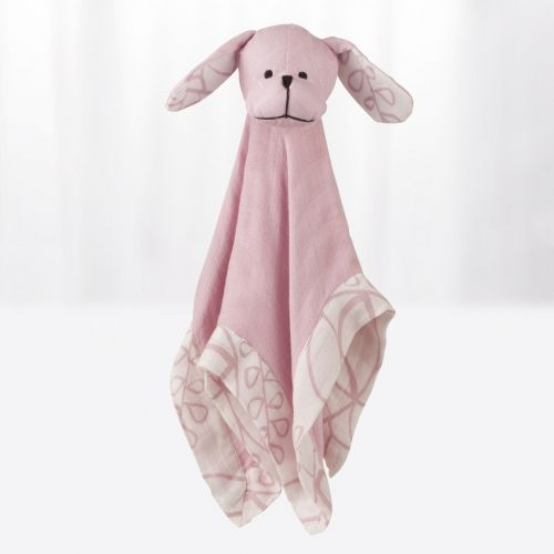 Aden et Anais Chien dog - tranquility bamboo musy mate lovey