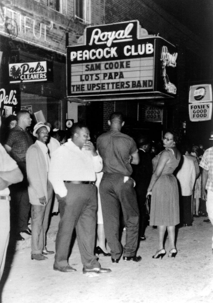 Auburn Avenue, a hub of Atlanta's black community for decades, is shown in archive photos from the Atlanta Journal-Constitution and Atlanta History Center.