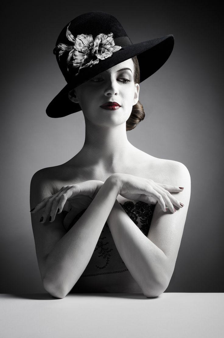 The Artist B&W Hats collection - Mademoiselle Slassi (Paris)