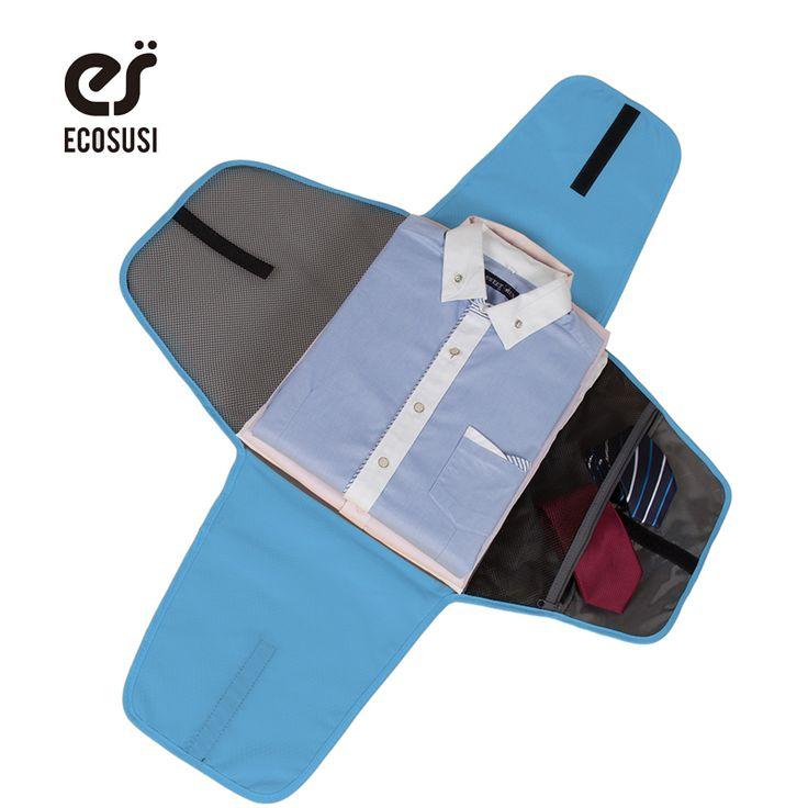 ECOSUSI Luggage Travel Gear Garment Folder Business Shirt Packing Organizers Travel Accessories For Business Organizer For Ties //Price: $12.68 & FREE Shipping //     #hashtag3