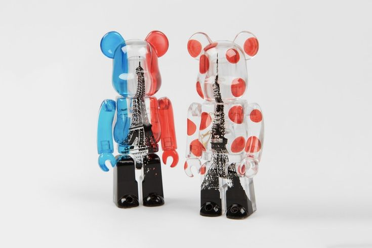 Medicom Toy Celebrates Eiffel Tower and Tokyo Tower With BE@RBRICKs
