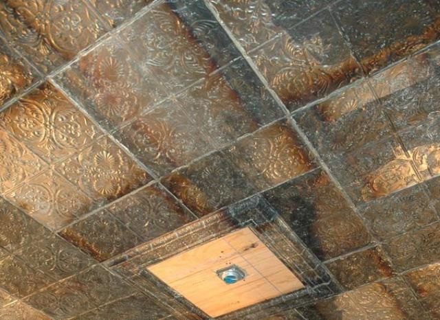 Learn about faux-metal and real metal ceiling tiles and where to buy them.