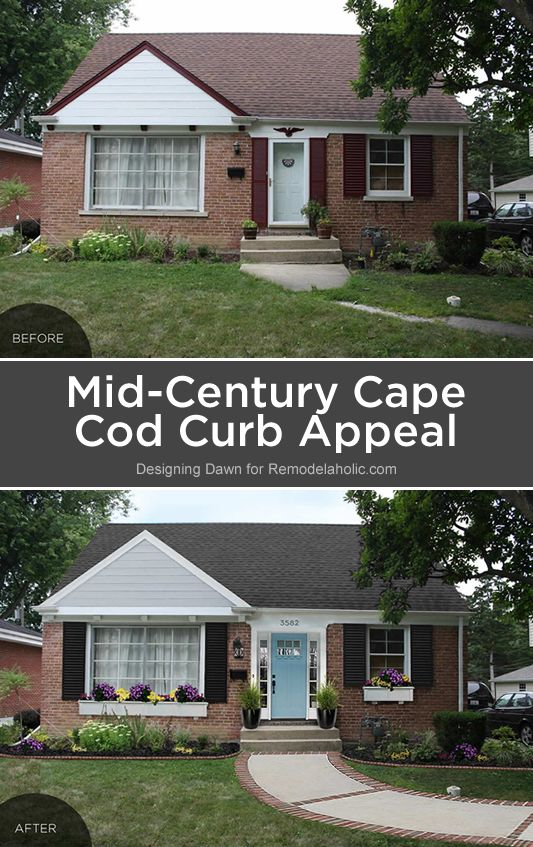 cape cod house exterior design. Roof color Make your mid century home feel updated and fresh without losing  the historical charm with these easy Cape Cod curb appeal ideas 71 best Style Houses images on Pinterest Arquitetura