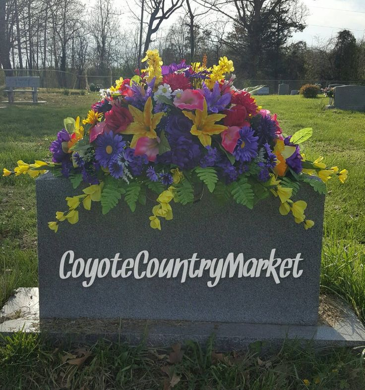 156 Best Cemetery Headstone Saddles Flowers Images On Pinterest