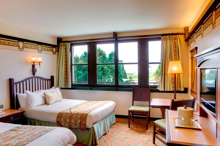 Disney Hotels, Sequoia Lodge - Standard Double Room, Disneyland Paris