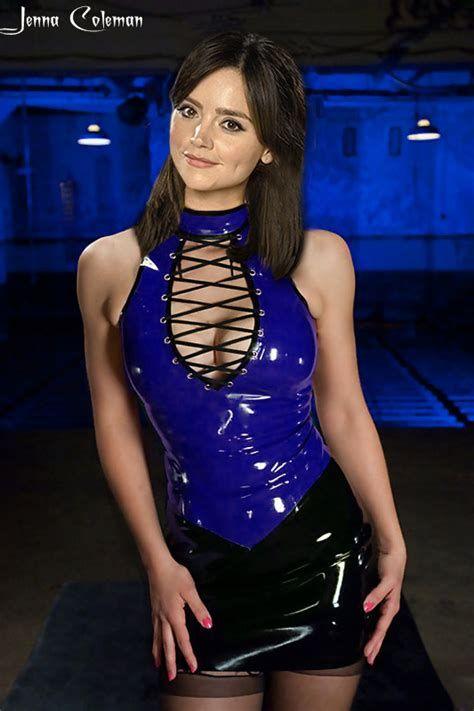 Jenna in latex