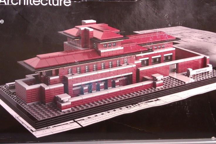 Frank Lloyd Wright in Lego!