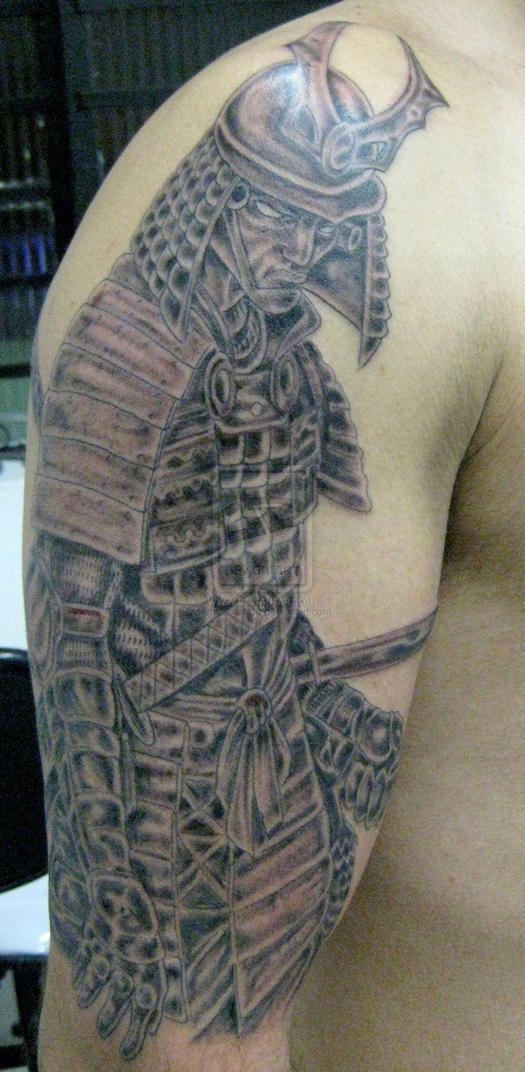 33 best samurai warrior tattoo flash images on pinterest for Saxon warrior tattoos