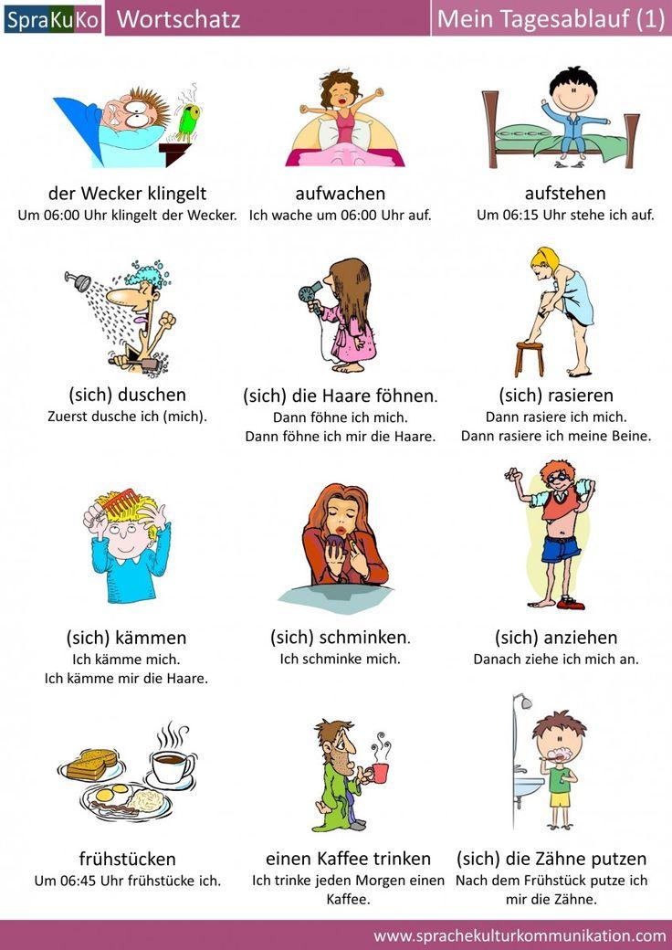 61 best Deutsch lernen: Wortschatz images on Pinterest | Learn ...