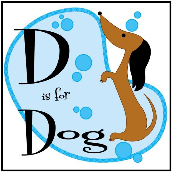 is for Dog Print from Alphabet Animals Suite by kerrybeary: pinterest.com/pin/18295942210287360