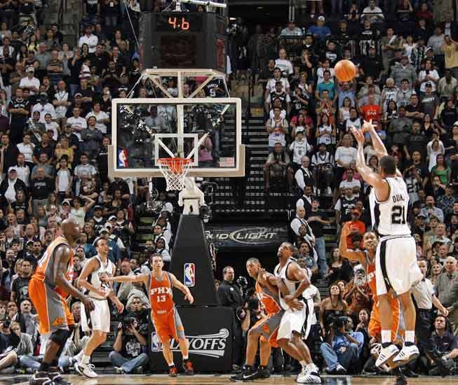 Glorious for Spurs fans, soul crushing for Suns fans. NOO! NO! NO!!!