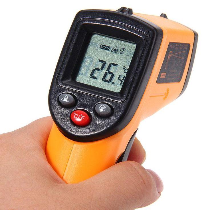 MAXIMIOU Infrared Thermometer Non-contact Temperature Tester