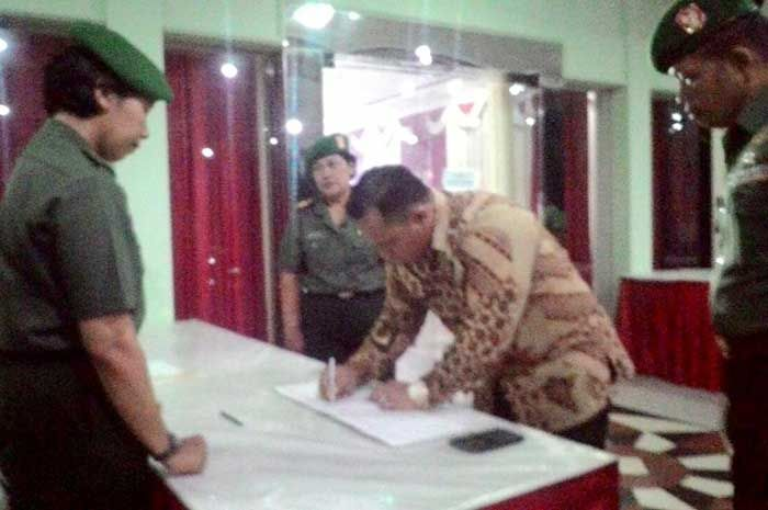 Kapolres Magelang Kota menghadiri Undangan Malam Targas Gubernur Akademi Militer