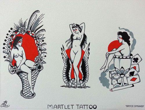 Martlet Tattoo