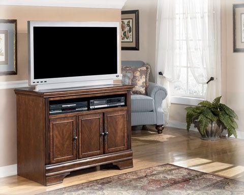 Hamlyn Traditional Dark Brown Wood TV Stand. Metall Tv StänderHolz ...