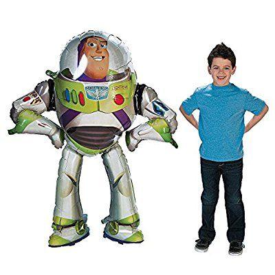 Disney Buzz Lightyear Airwalker Balloon Life Size Toy Story Anagram Balloons