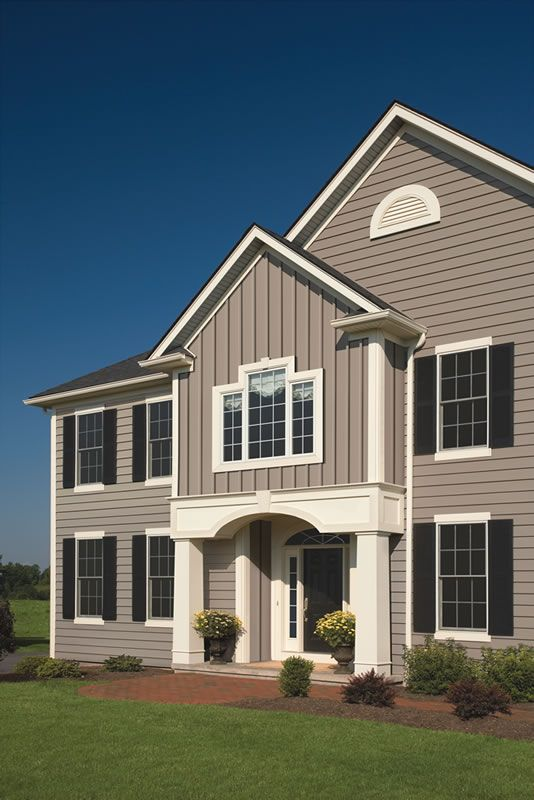 Vertical Vinyl House Siding | Vinyl Siding Gallery