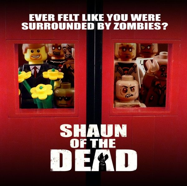 The Walking Dead news feed: Awesome Images of SHAUN OF THE DEAD in LEGO Form