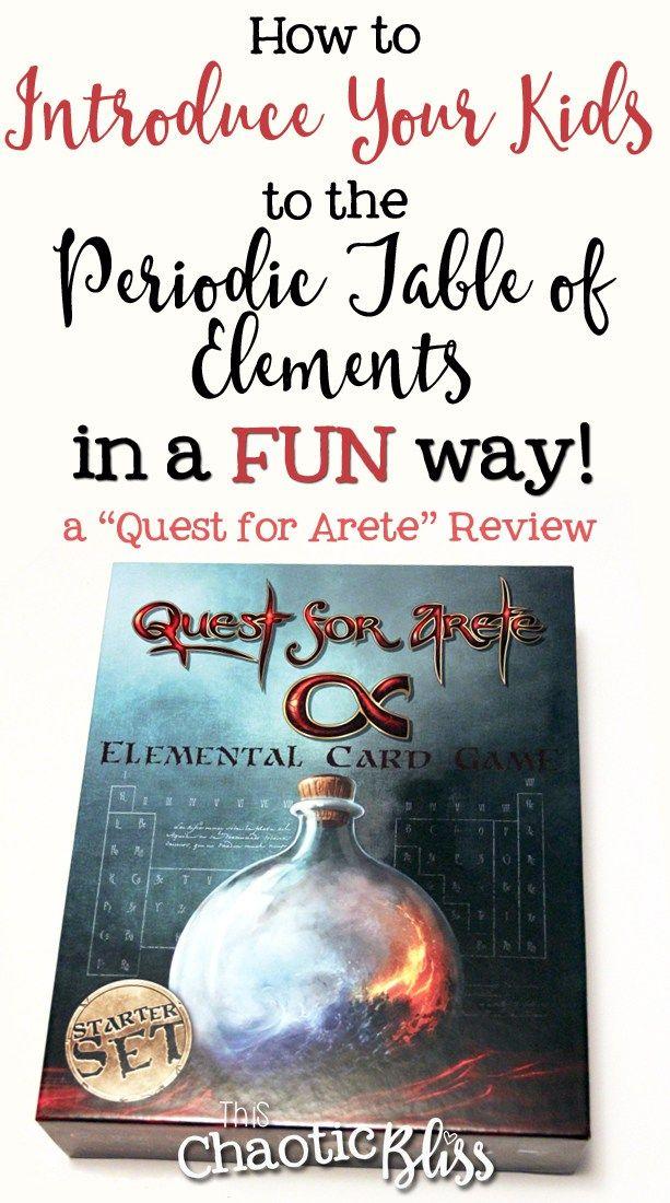 Quest for Arete Science Homeschool Magic Game