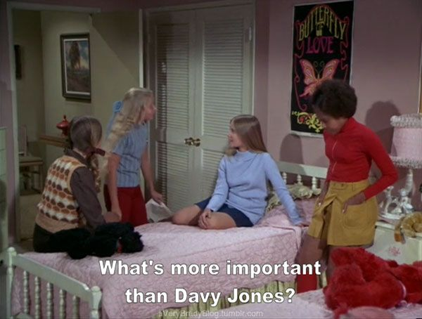 The essence of the late 60s early 70s, what's more important than Davy Jones ?