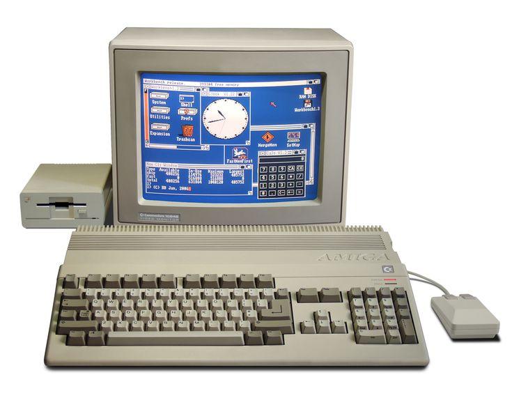 Amiga 500 from Commodore16/32-bit PC series (1986).