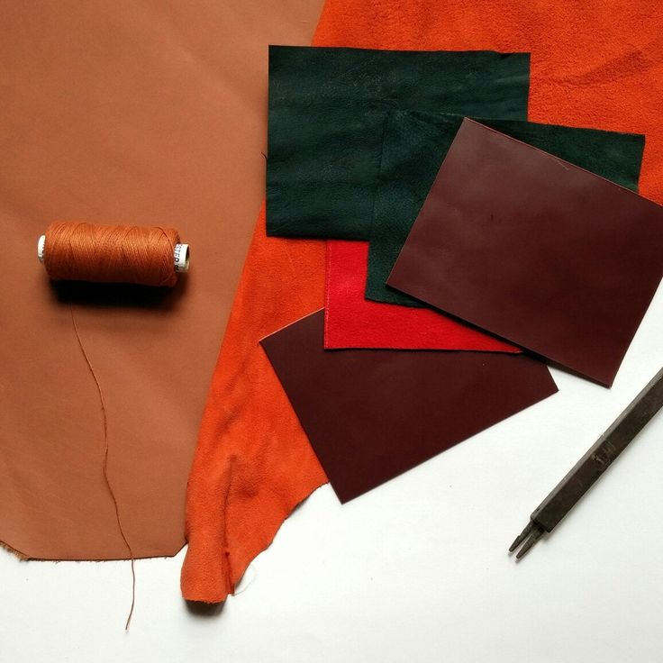 We now also make products with genuine leather!