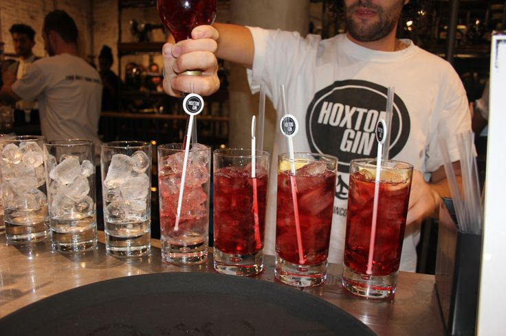 Drinks by Hoxton Gin at @AllSaintsShop #RegentStreet for #FNO