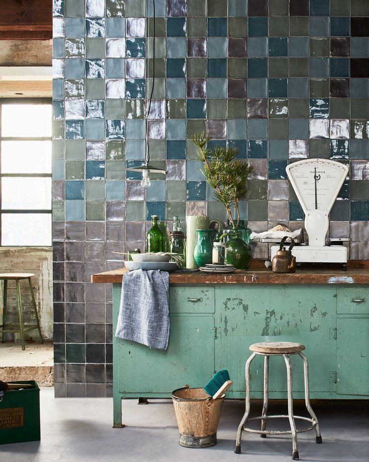 Best 25 glazed tiles ideas on pinterest - Deco design keuken ...