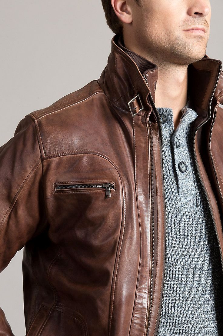 Mens Jackets Jackets Can Be A Vital Part Of Every Man S Set Of Clothing Men Have To Have Outdoor Leather Jacket Leather Jacket Men Style Mens Fashion Rugged