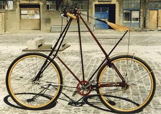 Pedersen cykel build by Christiania bikes