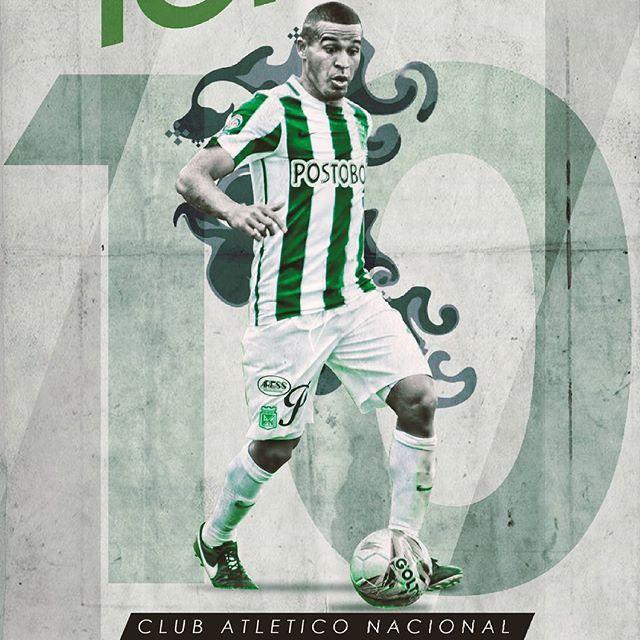 Wallpaper Atlético Nacional: Macnelly Torres