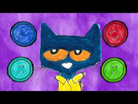 PETE THE CAT BUTTONS 1 - YouTube