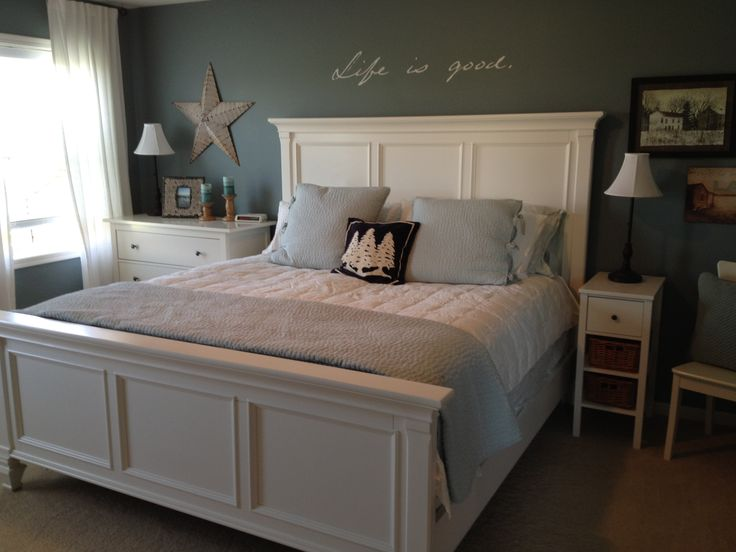 My Room Blue Amp White Bedroom Pottery Barn Pick Stitch