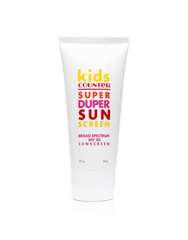 Sunscreen- 25 Essentials to Pack for the Kids on Your Winter Vacation