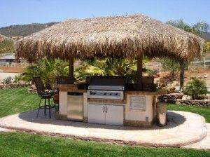 136 best Tiki hut images on Pinterest Backyard ideas Bar ideas