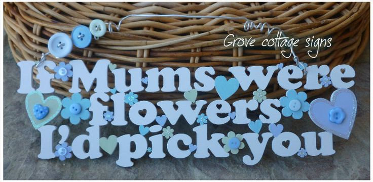 For Mum :) #handmade #grovecottage #mum #woodengifts #gifts
