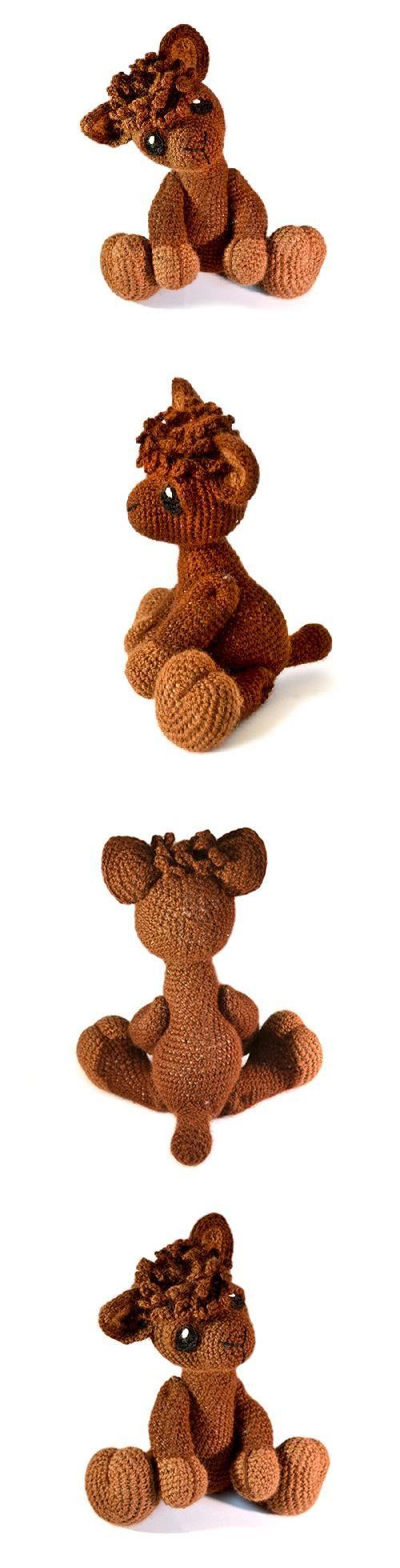 Alfie The Alpaca Amigurumi Pattern