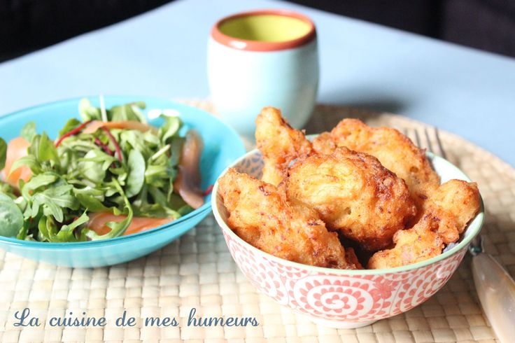 Beignets au crabe comme dans Happiness therapy