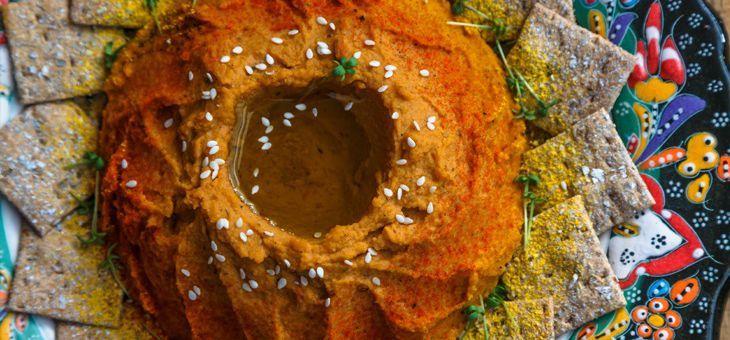 Curry pomazánka z červené čočky: Nejrychlejší cesta do Indie!