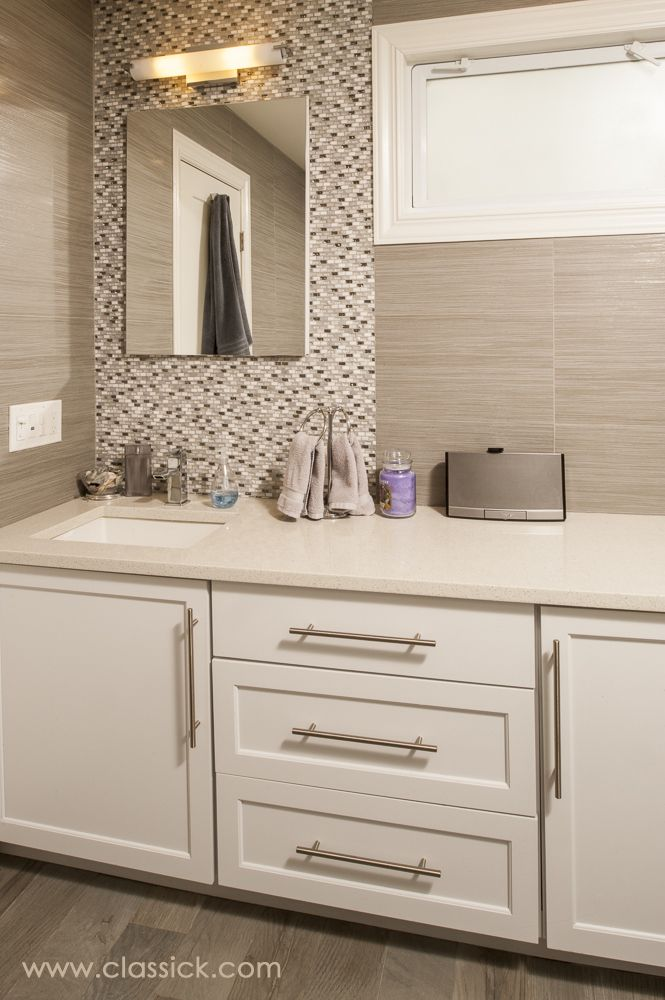Distressed Wood And Glass Bathroom Wall Cabinet: Bathroom Floor Tile Porcelain Wood Grain In A Distressed