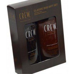 America Crew Classic Duo(Daily Shampoo Hold Styling Gel) by America Crew. $22.00. Added shine and strength. Ideal for normal to oily hair. The ultimate in holding power,. Men's Hair Care.. Not-flaking formula. Men's Hair Care. America Crew Classic Duo(Daily Shampoo 8.45 oz.& Firm Hold Styling Gel 8.45 oz.) Transform your hair with this Classic Duo.For Normal to Oily scalp Pack Includes: American Crew Daily Shampoo 8.45 oz. Ideal for normal to oily hair. Containing panama bar...