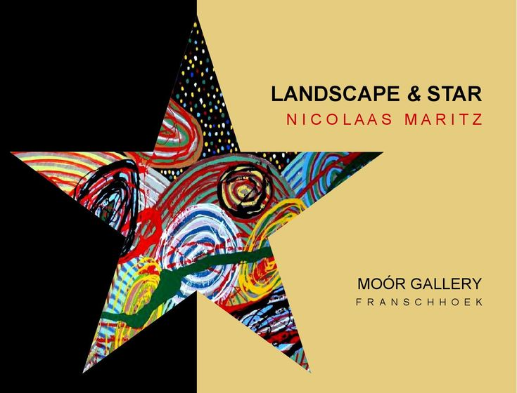 Nicolaas Maritz Moor Gallery 2016  Catalogue of an exhibition of recent paintings by Nicolaas Maritz at the Moor Gallery, Franschhoek, South Africa. June/July 2016