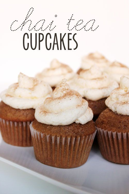 Chai Tea Cupcake Recipe, Required Ingredient Recipe Link Party #sugar #recipes #linkparty omnivorus.com