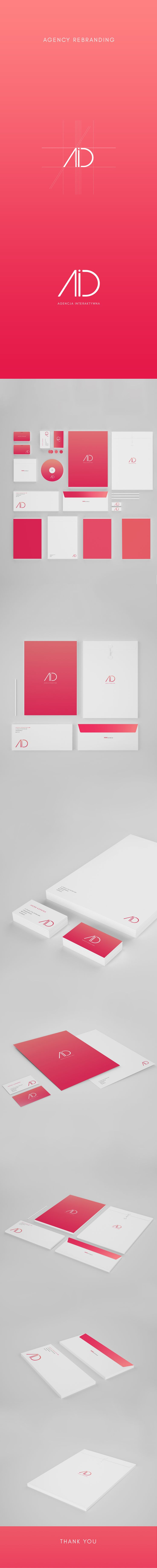 Agency Branding on Behance
