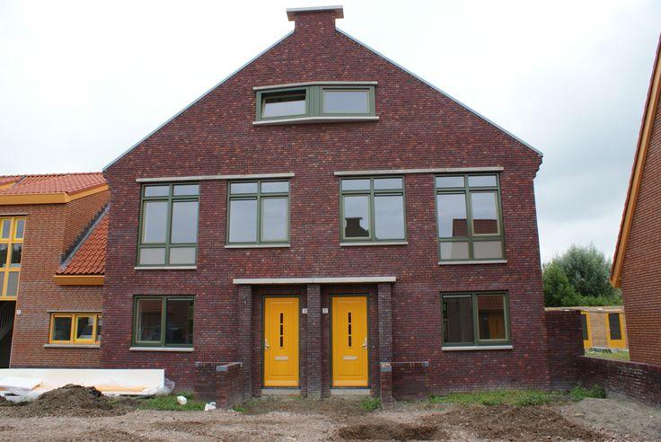 Project Riekel Prinsstraat, Bedum. BUVA Ergo-Nomic in de voordeur met Soft-Line beslag