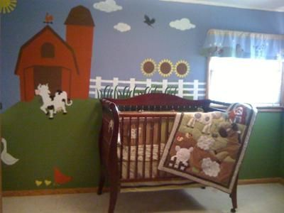 Pin By Gaga On Farmhand Chic Pinterest Nursery Farm And Baby Boy Nurseries